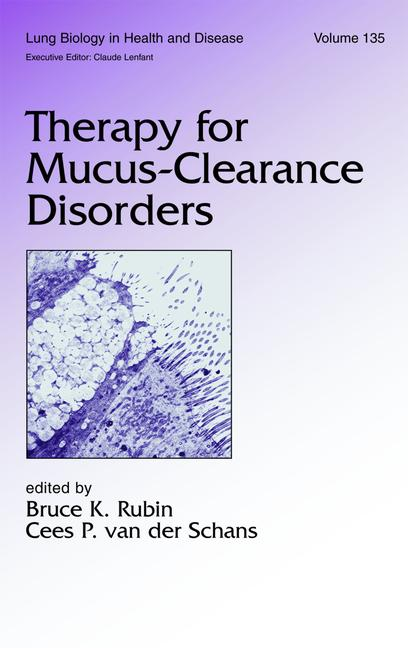 Therapy for Mucus-Clearance Disorders book cover