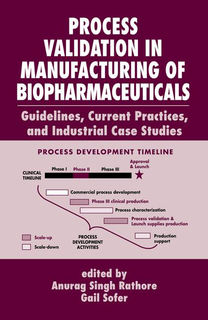 Process Validation in Manufacturing of Biopharmaceuticals Guidelines, Current Practices, and Industrial Case Studies book cover