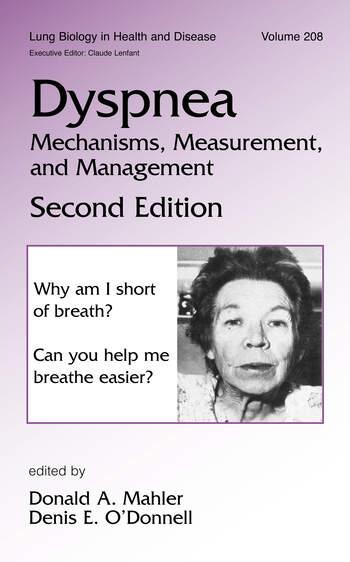 Dyspnea Mechanisms, Measurement and Management book cover