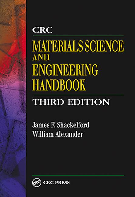 CRC Materials Science and Engineering Handbook book cover