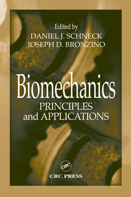 Biomechanics Principles and Applications book cover