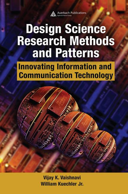 Design Science Research Methods and Patterns Innovating Information and Communication Technology book cover