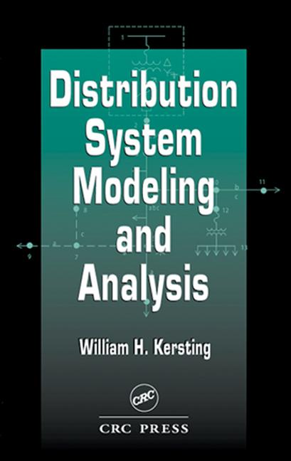 Distribution System Modeling and Analysis book cover