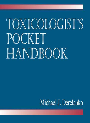 Toxicologist's Pocket Handbook book cover