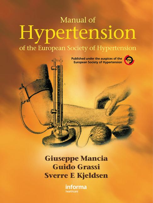 Manual of Hypertension of The European Society of Hypertension book cover