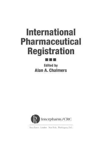 international pharmaceutical registration