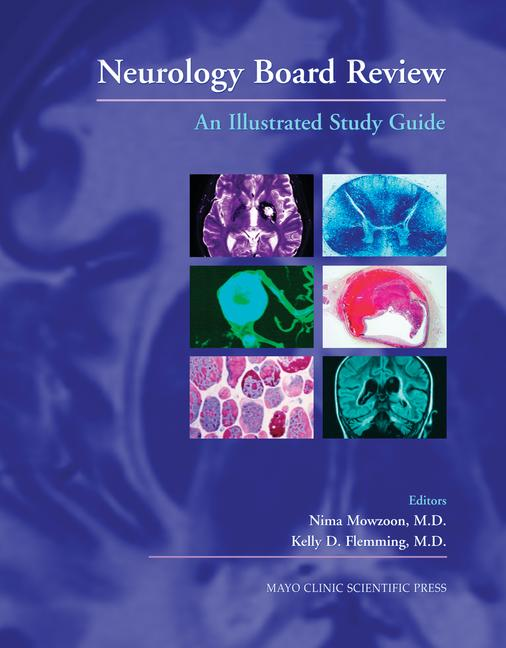 Neurology Board Review An Illustrated Study Guide book cover
