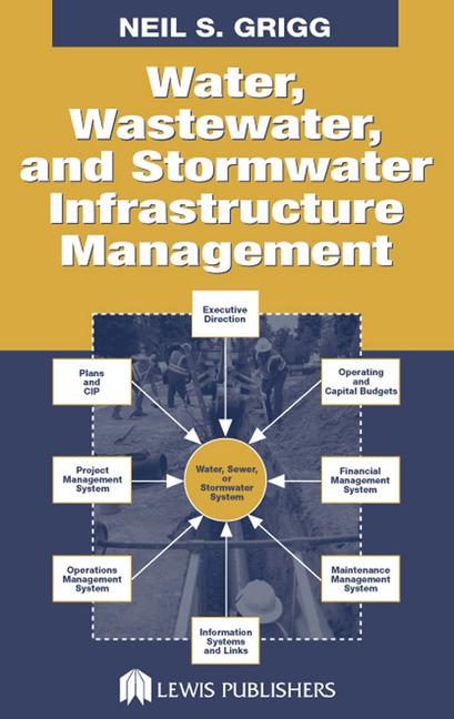 Water, Wastewater, and Stormwater Infrastructure Management book cover
