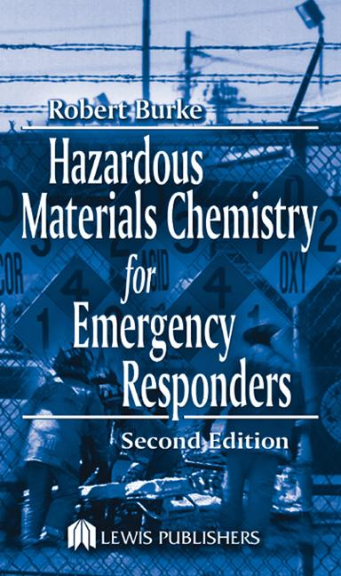 Hazardous Materials Chemistry for Emergency Responders book cover