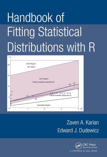 Handbook of Fitting Statistical Distributions with R book cover