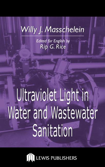 Ultraviolet Light in Water and Wastewater Sanitation book cover