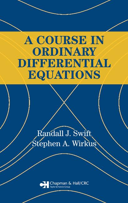 A Course in Ordinary Differential Equations book cover