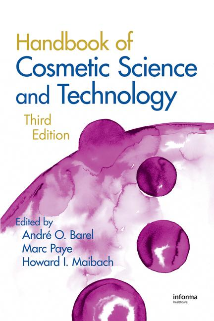 Handbook of Cosmetic Science and Technology book cover