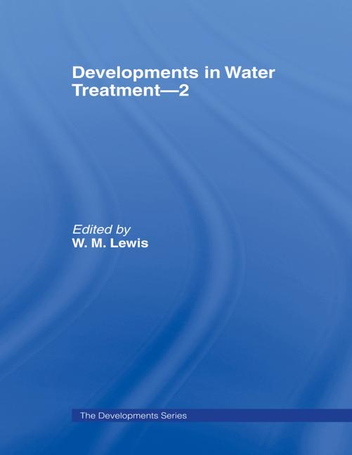 Developments in Water Treatment 2 book cover