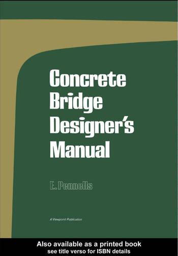 Concrete Bridge Designer's Manual book cover