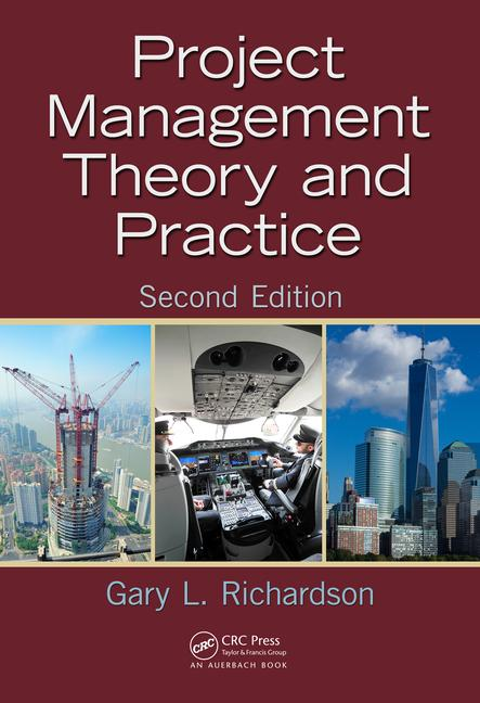 Project Management Theory and Practice book cover