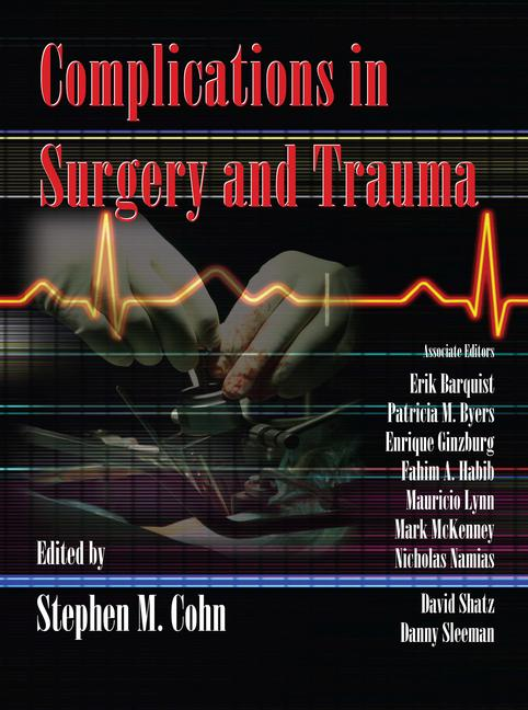 Complications in Surgery and Trauma book cover