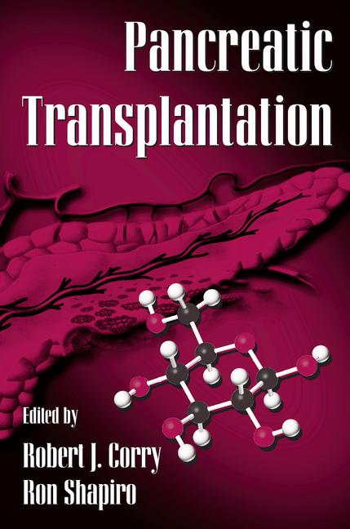 Pancreatic Transplantation book cover