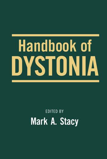 Handbook of Dystonia book cover