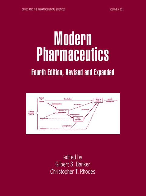 Modern Pharmaceutics book cover