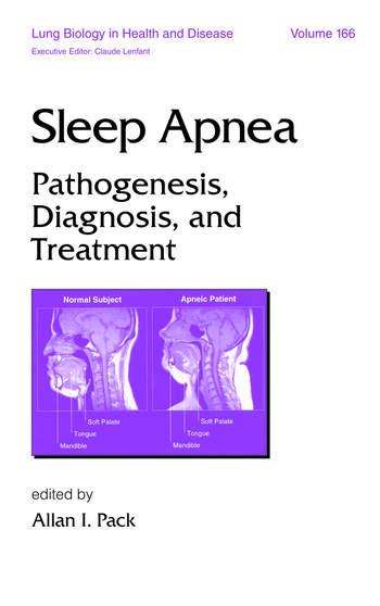 Sleep Apnea Pathogenesis, Diagnosis and Treatment book cover