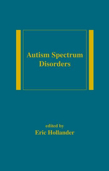Autism Spectrum Disorders book cover