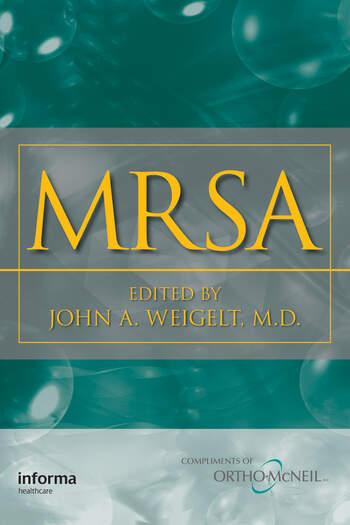 MRSA book cover
