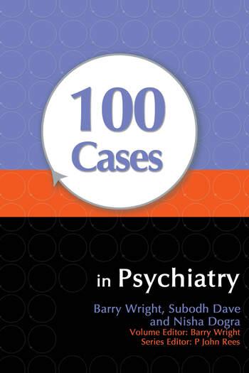 100 Cases in Psychiatry book cover