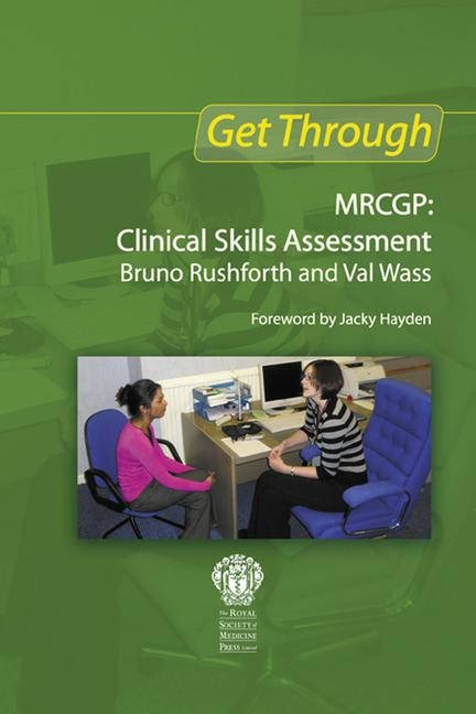 Get Through New MRCGP: Clinical Skills Assessment book cover