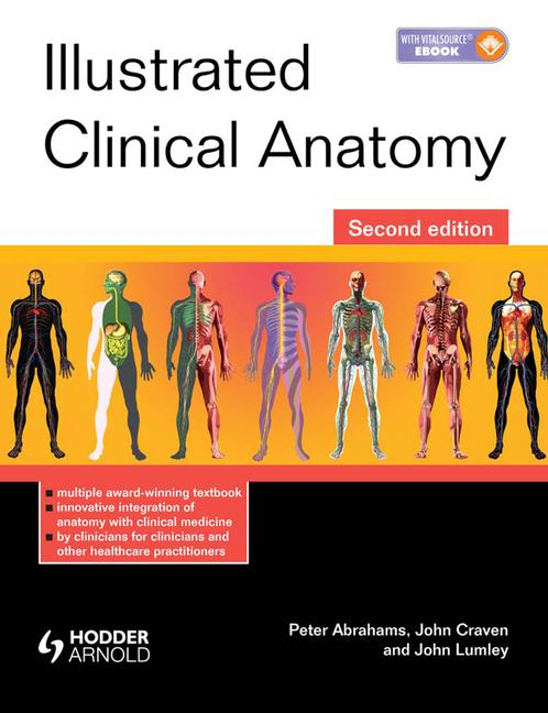 Illustrated Clinical Anatomy book cover