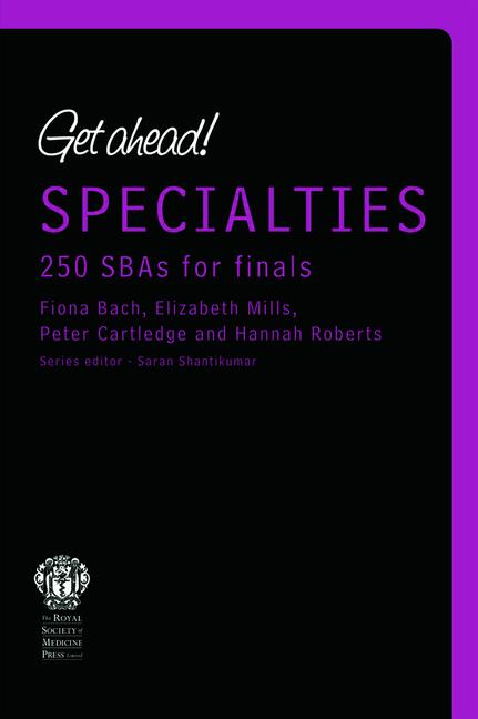 Get ahead! Specialites: 250 SBAs for Finals book cover
