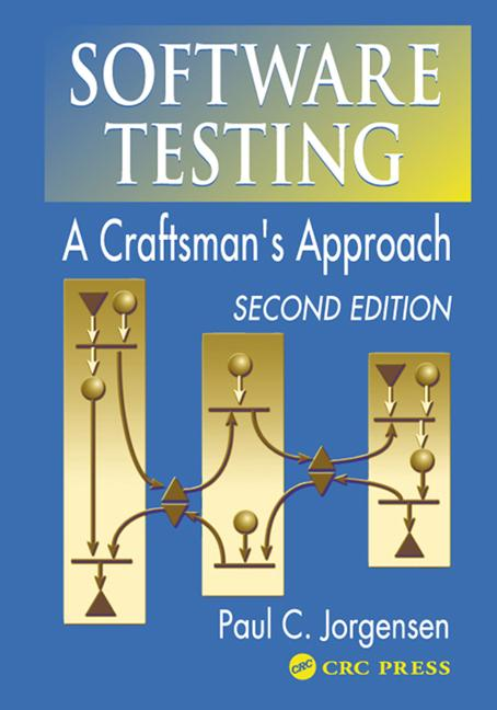Software Testing A Craftsman's Approach, Second Edition book cover