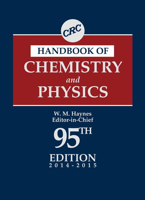 CRC Handbook of Chemistry and Physics book cover