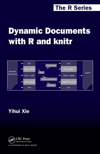 Dynamic Documents with R and knitr book cover