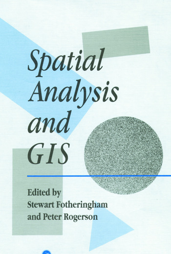 Spatial Analysis And GIS book cover