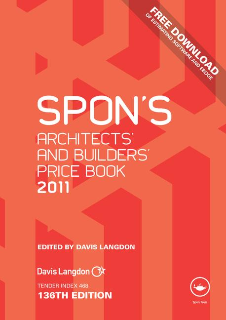 Spon's Architects' and Builders' Price Book 2011 book cover
