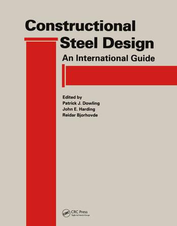 Constructional Steel Design An international guide book cover