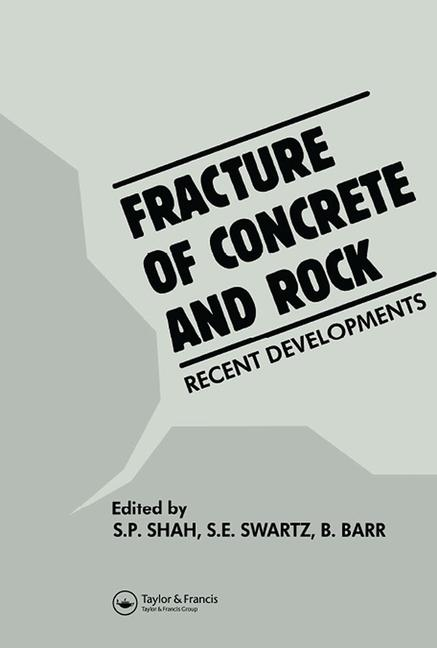 Fracture of Concrete and Rock Recent developments book cover