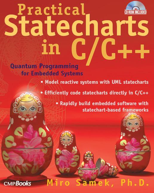 Practical Statecharts in C/C++ Quantum Programming for Embedded Systems book cover