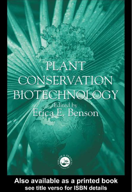 Plant Conservation Biotechnology book cover