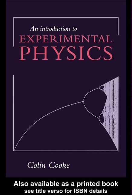 An Introduction to Experimental Physics book cover