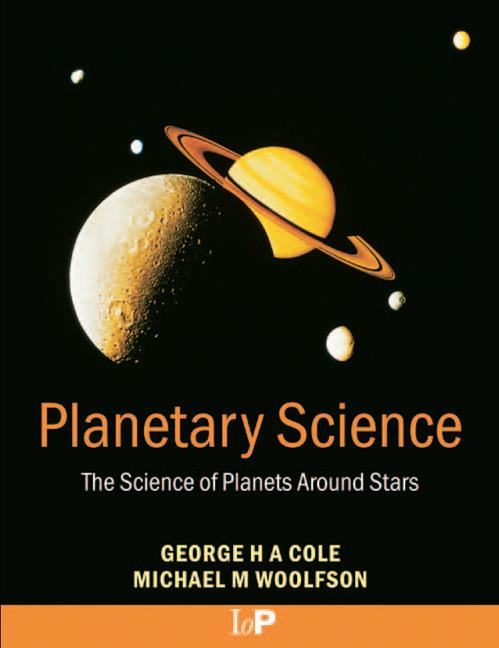 Planetary Science The Science of Planets Around Stars book cover