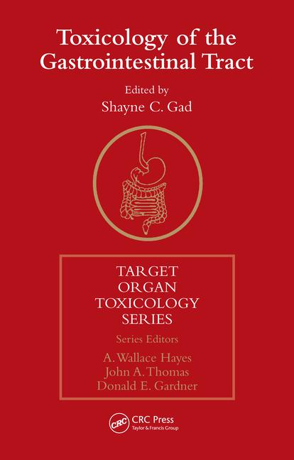 Toxicology of the Gastrointestinal Tract book cover