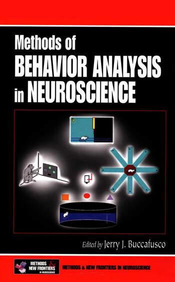 Methods of Behavior Analysis in Neuroscience book cover