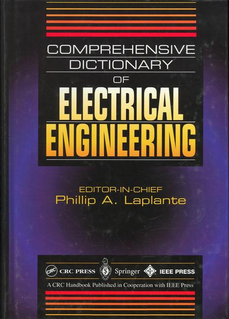 Comprehensive Dictionary of Electrical Engineering book cover