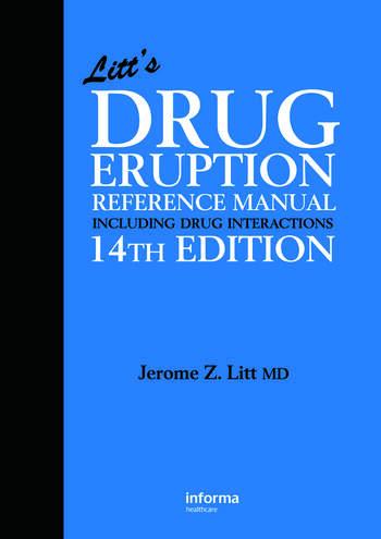 Litt's Drug Eruption Reference Manual Including Drug Interactions book cover