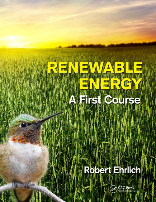 Renewable Energy A First Course book cover