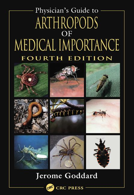 Physician's Guide to Arthropods of Medical Importance book cover
