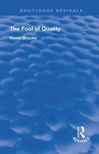The Fool of Quality Volume 1 book cover