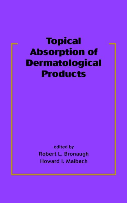 Topical Absorption of Dermatological Products book cover